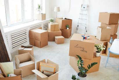 Après un déménagement, que faire de ces cartons ?