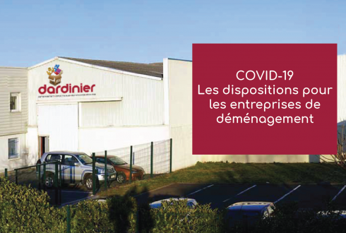 Covid-19 – Dispositions entreprises de demenagement